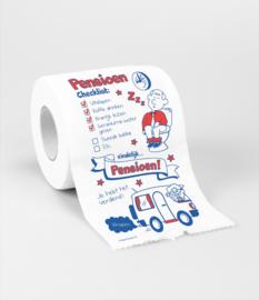 WC Papier - Toiletpapier - Pensioen
