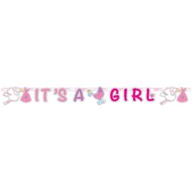 Geboorte Meisje Letterslinger It's a Girl