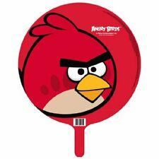 Folieballon Angry Birds Rood - 45 cm