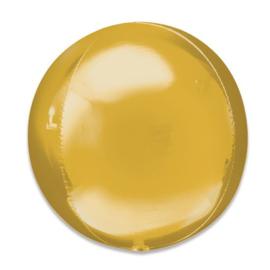 Folieballon Orbz goud - 40 cm