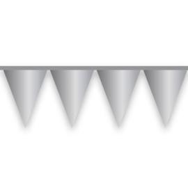 Vlaggenlijn zilver (10m)