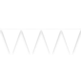 Vlaggenlijn wit (10m)