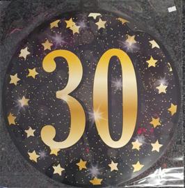 Huldeschild Gold Party  30 Jaar