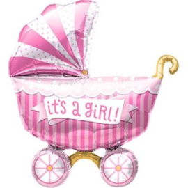 Ballon Shape It's a Girl 36 cm