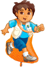 Folieballon SuperShape  Diego  - 120 cm