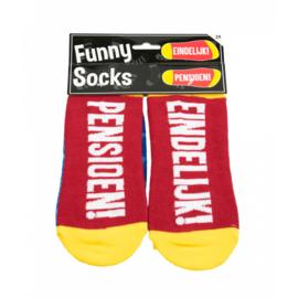 Sokken - Funny socks -Pensioen