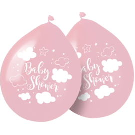 Ballonnen Babyshower Meisje  - 8 stuks