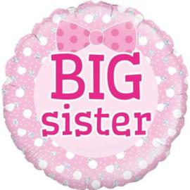 Folieballon Big Sister - 45 cm