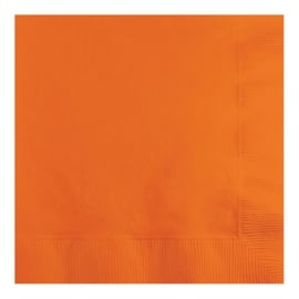 Servetten sunkissed orange