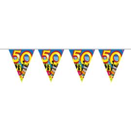 50 Jaar Vlaggenlijn Swirls - 10 meter