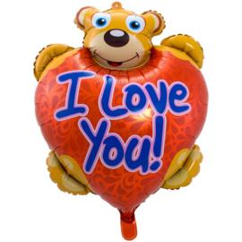 Ballon Shape i love you - 25 cm