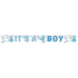Geboorte Jongen Letterslinger It's a Boy