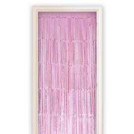 Deurgordijn roze (100x250cm)