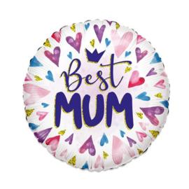 Folieballon ECO Best Mum - 46 cm