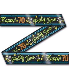 Neon party tape - 70 - 12 meter