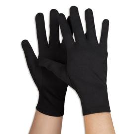Handschoenen zwart kort