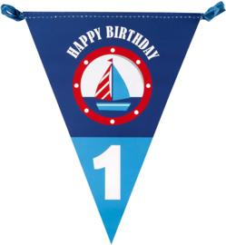 Ahoy Daar 1e Verjaardag Vlaggenlijn