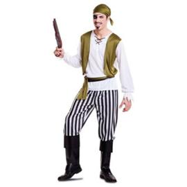 Piraat Kostuum Groen