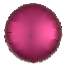 Folieballon rond satin granaatappel - 43 cm