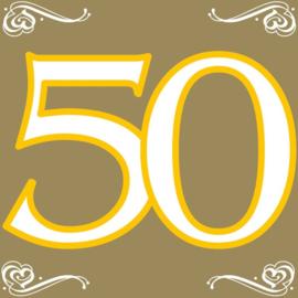 50 Jaar Gouden Servetten