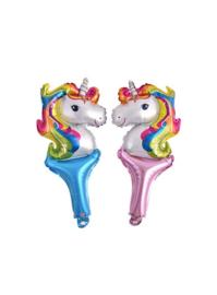 Unicorn Eenhoorn mylar ballon 1 per verpakking