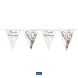 Leve het Bruidspaar Trouwringen Vlaggenlijn - 10 meter