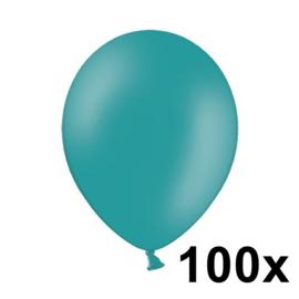 Pastel Turquoise 100 Stuks