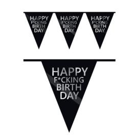 Vlaggenlijn Happy F*cking Birthday (6m)