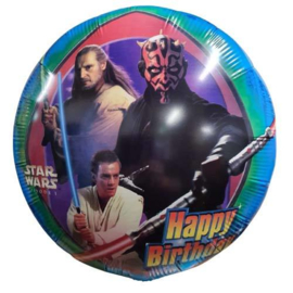 Folieballon Happy Birthday Stars Wars Young Jedi 45 cm