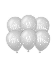 Wedding balloons - Mr. & Mrs.