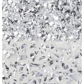 Confetti Glitter Folie Zilver - 42 gram