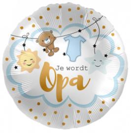 Folieballon 'Je Wordt Opa' - 45 cm