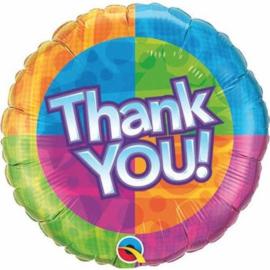 Folieballon Thank You - 45 cm