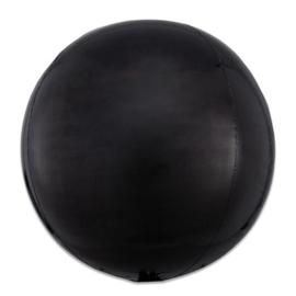 Folieballon Orbz zwart - 40 cm
