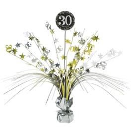 Glitterfeest 30 Jaar Tafeldecoratie - 46cm