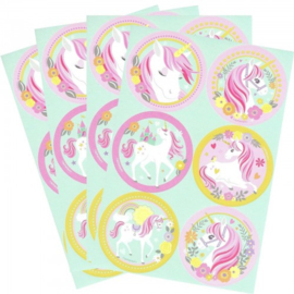 Unicorn Eenhoorn Magical Unicorn Stickers