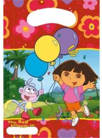 Uitdeelzakjes Dora 6 Stuks
