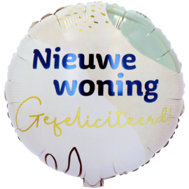 Folieballon 'Gefeliciteerd! Nieuwe Woning' - 45 cm