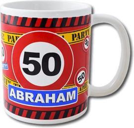 Leeftijd mok 50  jaar abraham