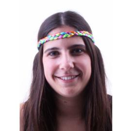 Regenboog hoofdbandje