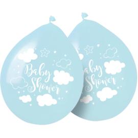 Ballonnen Babyshower Jongen  - 8 stuks