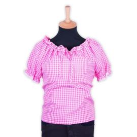 Blouse Antonina pink deluxe
