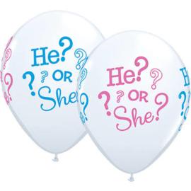 Gender Reveal Ballonnen - 28 cm
