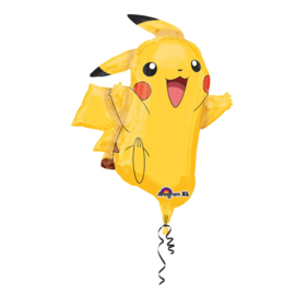 Folieballon SuperShape Pikachu - 78 cm