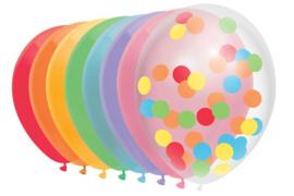 Ballonnen mix Over the Rainbow 30 cm - 10 stuks