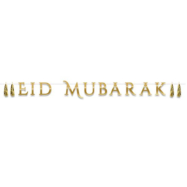 Letterslinger 'Eid Mubarak' met tassel