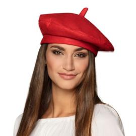 Franse baret rood