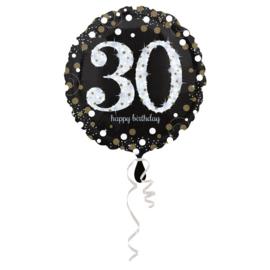 Folieballon 30 Glitterfeest 45 cm
