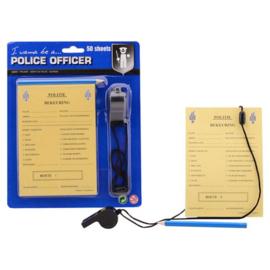 Politie bonnenboekje