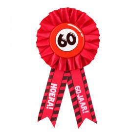 Party Rozetten - 60 jaar